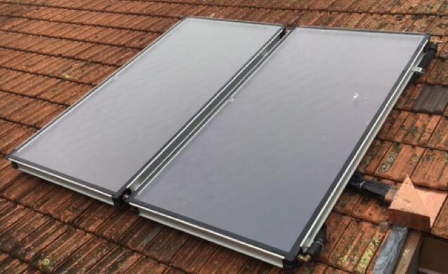 Panneaux solaire en toiture